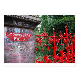 Strawberry Fields Liverpool Postcard