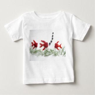 strawberry fish T-shirt