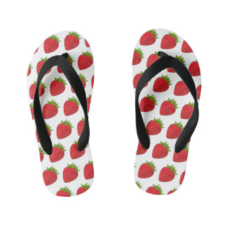Strawberry Flops Kid's Flip Flops