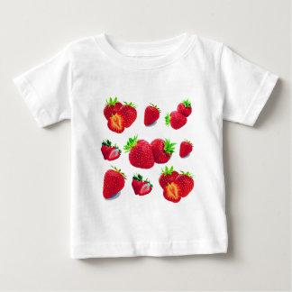 Strawberry Fruit Pattern Baby T-Shirt