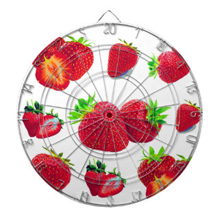 Strawberry Fruit Pattern Dartboard