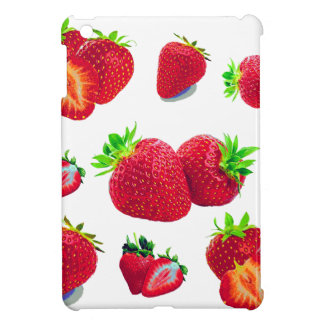 Strawberry Fruit Pattern iPad Mini Case
