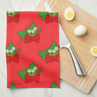 Strawberry Fruit Pattern Kitchen towel