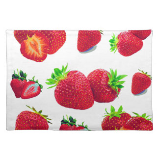 Strawberry Fruit Pattern Placemat