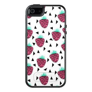 Strawberry Fruit Pink Green Summer / Andrea Lauren OtterBox iPhone 5/5s/SE Case
