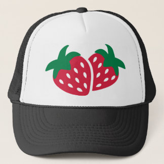 Strawberry Fruit Trucker Hat