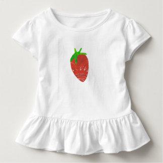 Strawberry Girl's Toddler Ruffle Tee
