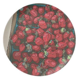 Strawberry Harvest Dinner Plate