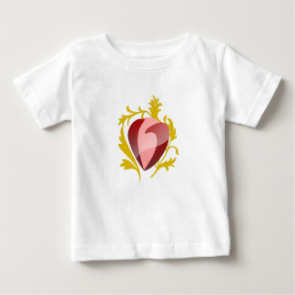 strawberry heart baby T-Shirt