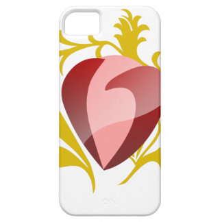 strawberry heart iPhone 5 covers