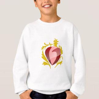 strawberry heart sweatshirt