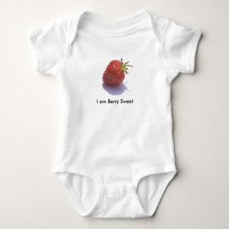 strawberry, I am Berry Sweet Baby Bodysuit