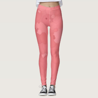 Strawberry Ice Bubbles Leggings