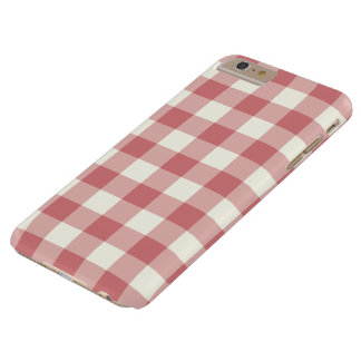 Strawberry Ice Gingham iPhone 6 Plus Case