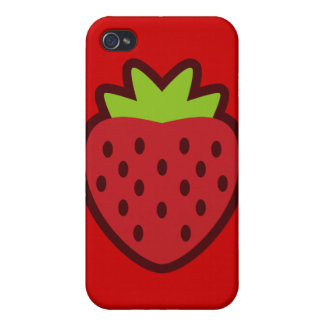 STRAWBERRY iPhone 4/4S CASES