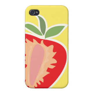 Strawberry iPhone case Cover For iPhone 4