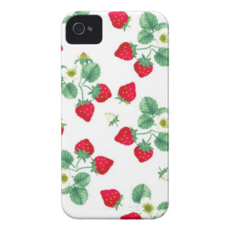 Strawberry iPhone iPhone 4 Case-Mate Cases