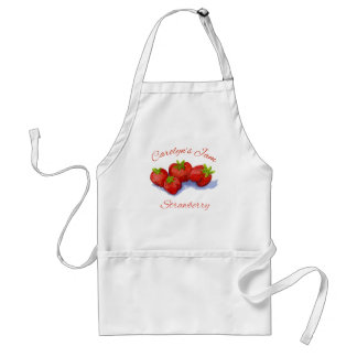 strawberry jam apron