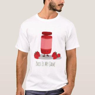 Strawberry Jam cartoon character | Mens T-shirt
