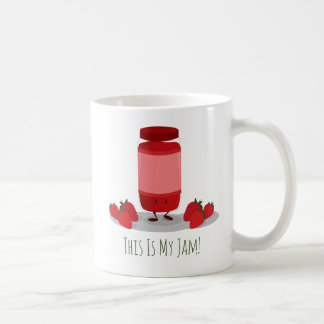 Strawberry Jam cartoon character | Mug