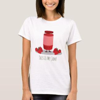 Strawberry Jam cartoon character | Womens T-shirt