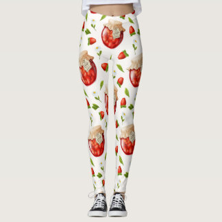 Strawberry Jam Leggings