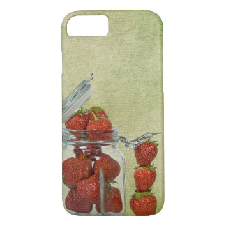 strawberry jar iPhone 8/7 case