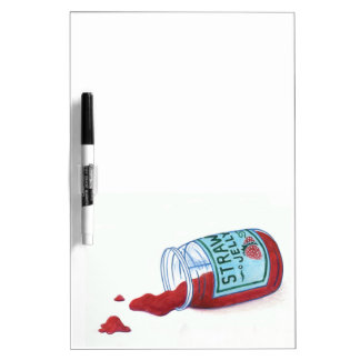 Strawberry Jelly Dry Erase Board