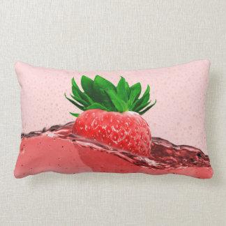 Strawberry Juice Lumbar Pillow