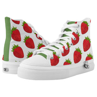 Strawberry Kicks High Tops