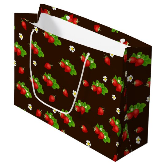 Strawberry Large Gift Bag