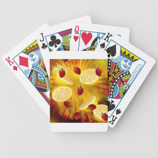 STRAWBERRY LEMONADE BICYCLE PLAYING CARDS