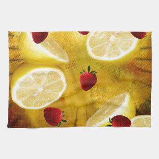 STRAWBERRY LEMONADE HAND TOWEL