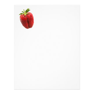 Strawberry Letterhead