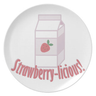 Strawberry-licious Dinner Plates