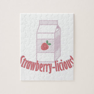 Strawberry-licious Jigsaw Puzzle