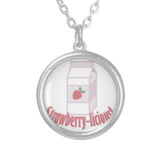 Strawberry-licious Silver Plated Necklace