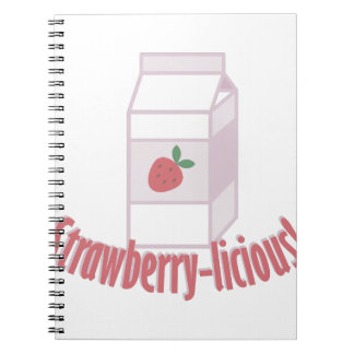 Strawberry-licious Spiral Notebook