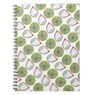 Strawberry Lime Notebook