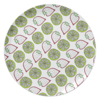 Strawberry Limeade Plate