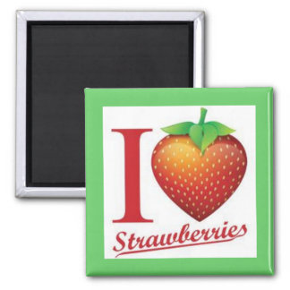 STRAWBERRY MAGNET BY BEVERLY