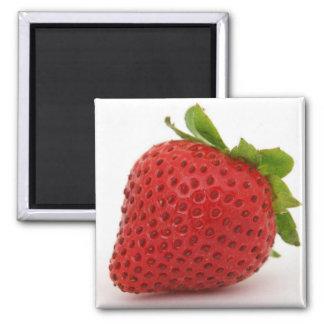 Strawberry magnet decor
