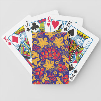 Strawberry Maple Bicycle Playing Cards