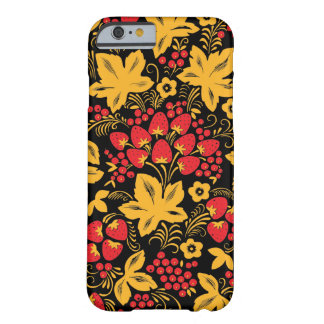 Strawberry Maple Hohloma Barely There iPhone 6 Case