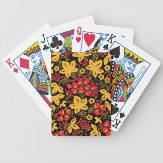 Strawberry Maple Poker Deck