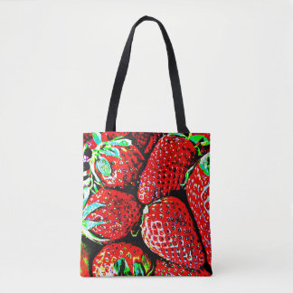 Strawberry Market Bag