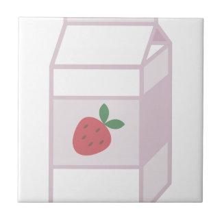 Strawberry Milk Ceramic Tiles
