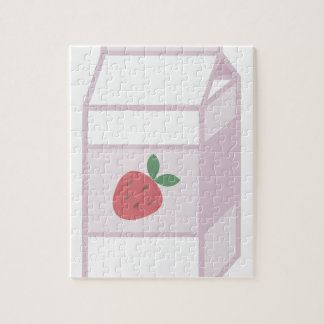 Strawberry Milk Jigsaw Puzzle