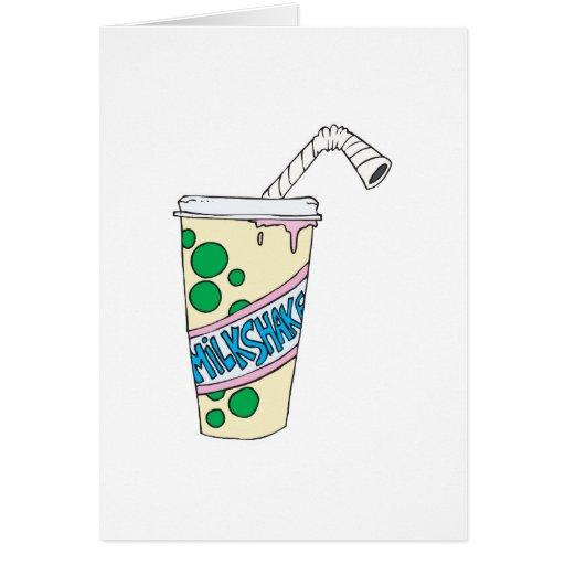 strawberry milkshake cards