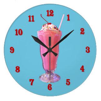 Strawberry Milkshake Wallclock